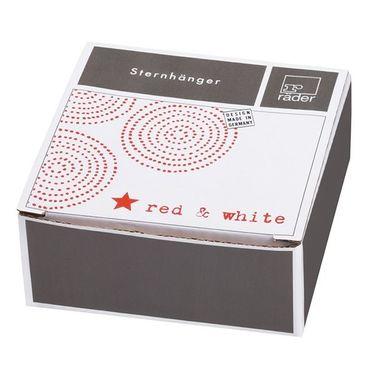 """Red & White Collection Sternhänger """"roter Stern"""" – Bild 2"""