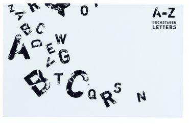 """ABC Memos """"Stamps"""" Notizabrisszettel selbstklebend A-Z – Bild 1"""