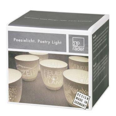 Poesielicht STERNSTUNDE Teelichthalter – Bild 2