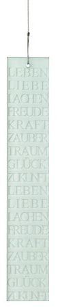 """Poesiefensterbild """"Leben Lieben Lachen..."""" - Räder Design"""