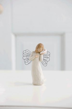 Willow Tree Engel THINKING OF YOU - Ich denk an Dich Enesco Demdaco