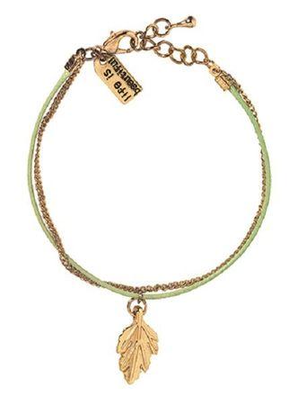 Lieblinge Wunschband BLATT Armband