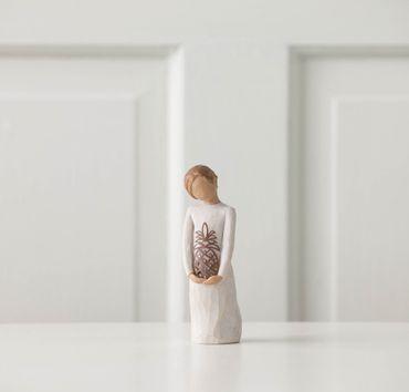 """Willow Tree Figur """"Gracious - Liebenswürdig - Herzlich Willkommen"""""""