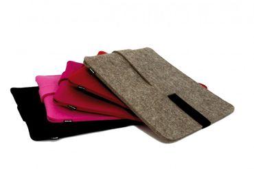 BABUSCHKA Ipad Tasche Filz Schutztasche für Ipad schwarz – Bild 3