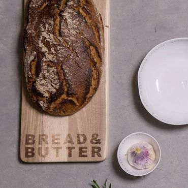 "Schneidebrett ""Bread and Butter"" - Räder Design – Bild 2"
