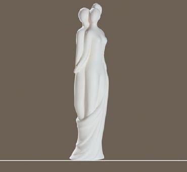 Skulptur Francis Paar DIE STANDHAFTEN Paarfigur