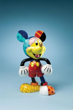 "Britto Figur Disney ""Mickey Mouse"" Comicfigur Enesco"