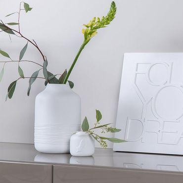 """Porzellanvase Blumenvase """"Freude"""" – Bild 2"""
