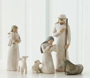 "Willow Tree ""Heilige Familie, Geburt Christi - Nativity"" Krippenfiguren 6tlg."