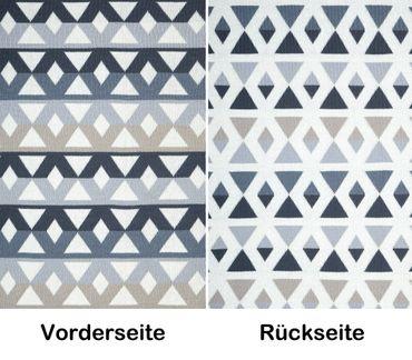 "Decke Kuscheldecke Sofadecke Feel Good Decke ""Pyramids"" 180 x 125 cm – Bild 1"