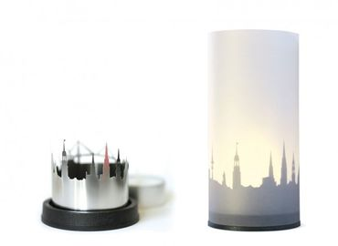 STADTLICHT Kerzenlicht mit Schattenwurf dekoop – Bild 1