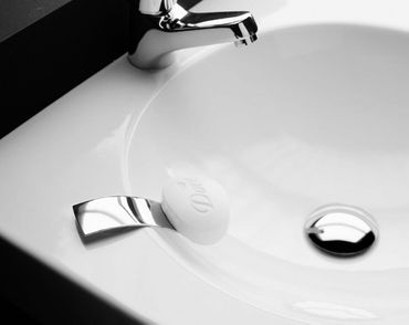 Seifenhalter Edelstahl poliert/matt - Artikel Design – Bild 1