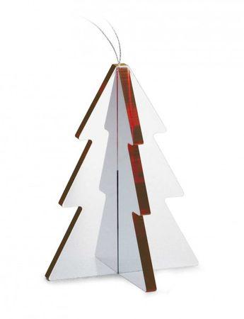 RED X-Mas Weihnachtsschmuck Christbaumschmuck – Bild 1