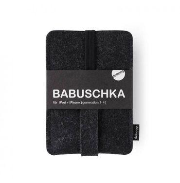 dekoop BABUSCHKA Handytasche für Smartphones und Digitalkameras, reiner Wollfilz – Bild 9