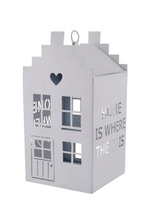 "Windlicht Häuschen ""home is where the heart is"" groß - Gift Company – Bild 4"