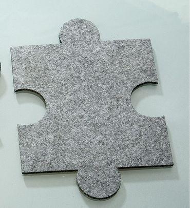 Filzuntersetzer Puzzle Filz Untersetzer 4er Set Gilde – Bild 1