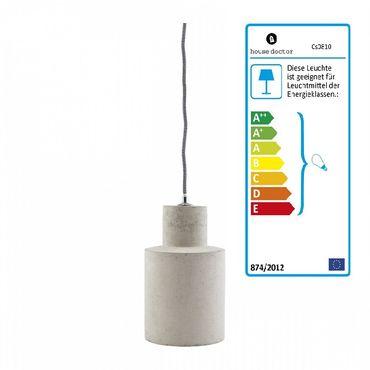 Hängeleuchte Betonlampe Deckenlampe Lampe Leuchte Beton NOD house doctor – Bild 1