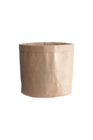 Aufbewahrungskorb Aufbewahrungsbehälter Verwahrungstüte aus Papier CRAFT house doctor