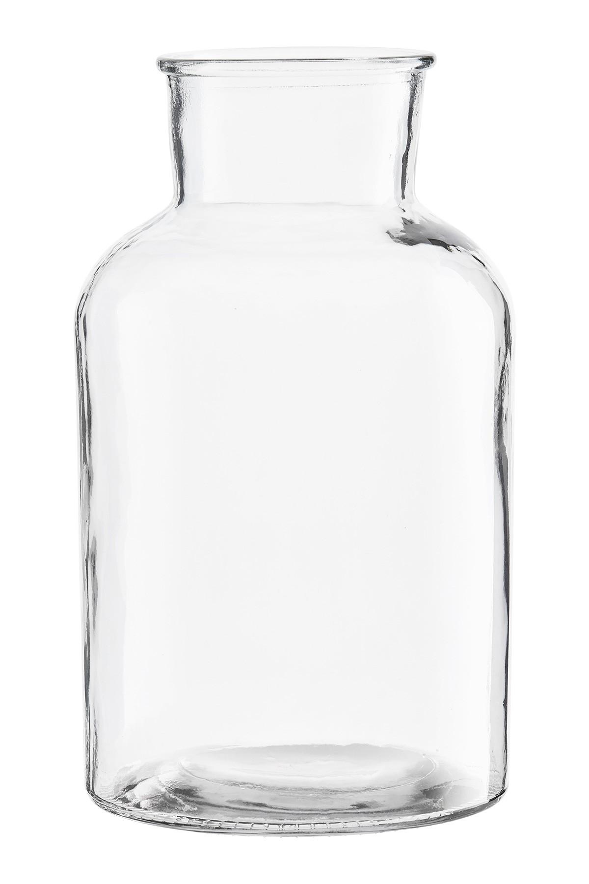 Vase Glas Blumenvase Glasvase Tischvase Bodenvase Glass House Doctor