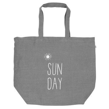 Tragetasche Shopper Einkaufstasche Tasche SUNDAY Räder – Bild 1