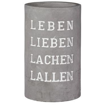 """Vino Beton Weinkühler """"Leben Lieben Lachen Lallen"""" - Räder Design"""