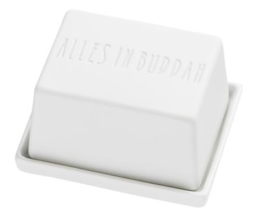 """Butterdose klein """"ALLES IN BUDDHA / Ommmmmmmm"""" Räder Design – Bild 2"""