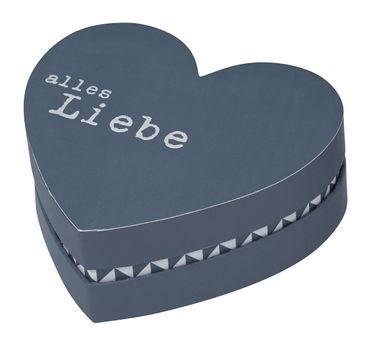 Aufbewahrungsbox Geschenkverpackung Dekobox Herzbox 3er Set VON HERZEN Räder – Bild 3