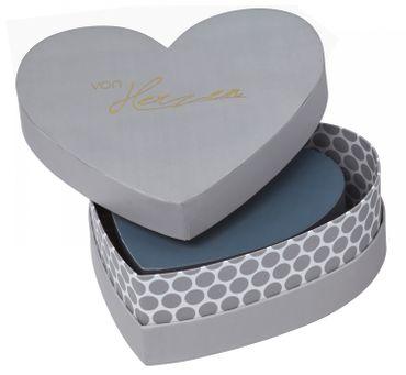 Aufbewahrungsbox Geschenkverpackung Dekobox Herzbox 3er Set VON HERZEN Räder – Bild 1