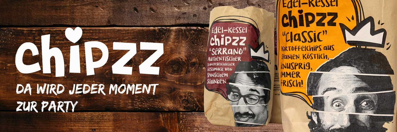 Artisan Kartoffelchips Chipzz Classic 12er Pack (12 x 150g)