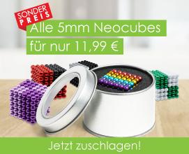 Sonderpreis für 5mm Neocubes