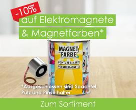 -10% auf Elektromagnete & Magnetfarben