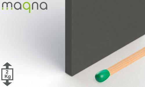 Ferrit Quadermagnet, 50x50x5 mm, Grade Y30 - Produktfoto
