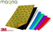 Selbstklebende farbige Magnetfolie DIN A4 Format zum Beschriften und Zuschneiden, 297x210 mm 001