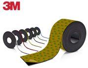 Farbiges Magnetband - Selbstklebend - 4mm breit zum Beschriften und Zuschneiden