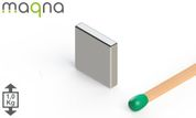 Neodym Quadermagnet 10x10x2mm, vernickelt, Grade N52 002