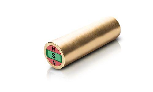 Stabgreifer, Stabmagnetsystem, 5x20 mm, Messing - Produktfoto