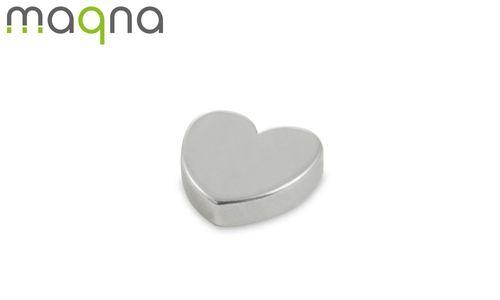 Magnet in Herzform, 15x4 mm - Produktfoto