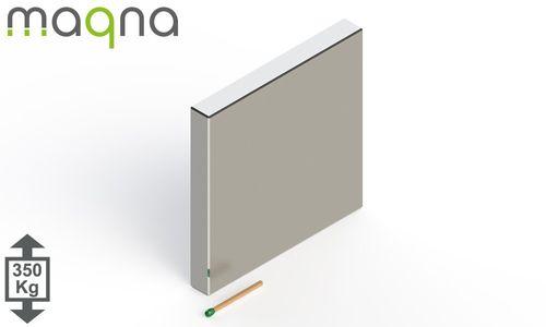 Neodym Quadermagnet, 80x80x10mm, vernickelt, Grade N52 - Produktfoto