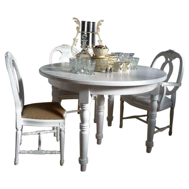 Esstisch rund landhaus  Tisch DEJA rund
