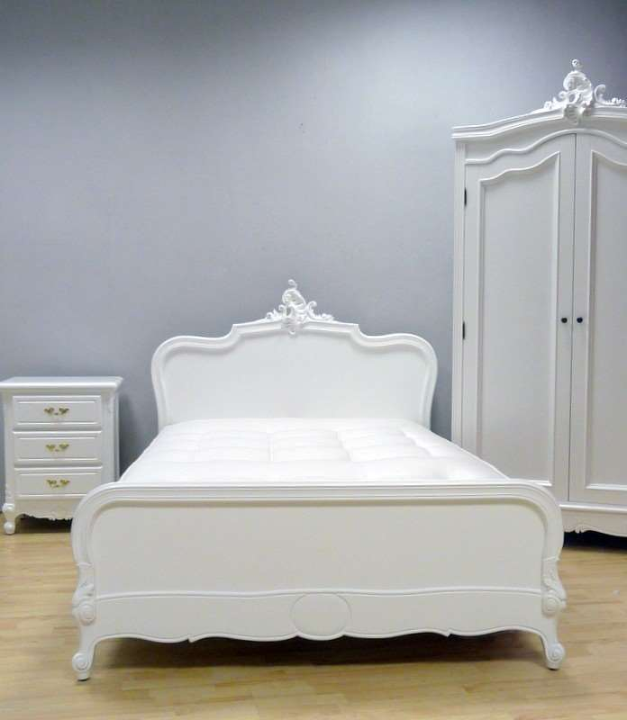 Bett weiß 160x200  Bett CARLA 160x200