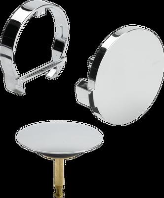 Viega Multiplex Trio Wannengarnitur mit Einlauf Grundset inkl. Farbset in Überlänge BZL 1070 mm – Bild 4