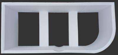Badewanne 170 x 80 x 50 cm  Petra Rechts / Links T & R Design – Bild 10