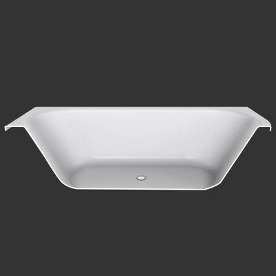 Badewanne 170 x 80 x 50 cm  Petra Rechts / Links T & R Design – Bild 5