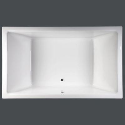 Rechteckbadewanne 200 x 120 x 50 cm Mona T&R Design