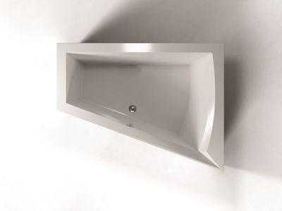 Raumspar Badewanne Galia II 175 x 135 x 52 cm rechts – Bild 2