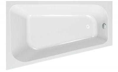 Raumspar Badewanne 170 x 110 x 45 cm Mara L/R – Bild 4