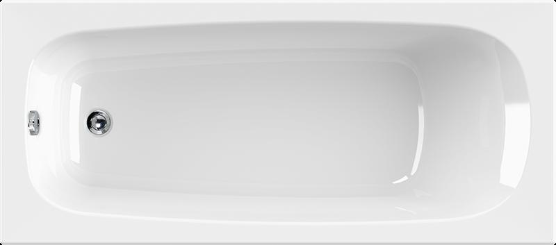 rechteck badewanne korana inkl wannentr ger 170 x 75 x 39 cm. Black Bedroom Furniture Sets. Home Design Ideas