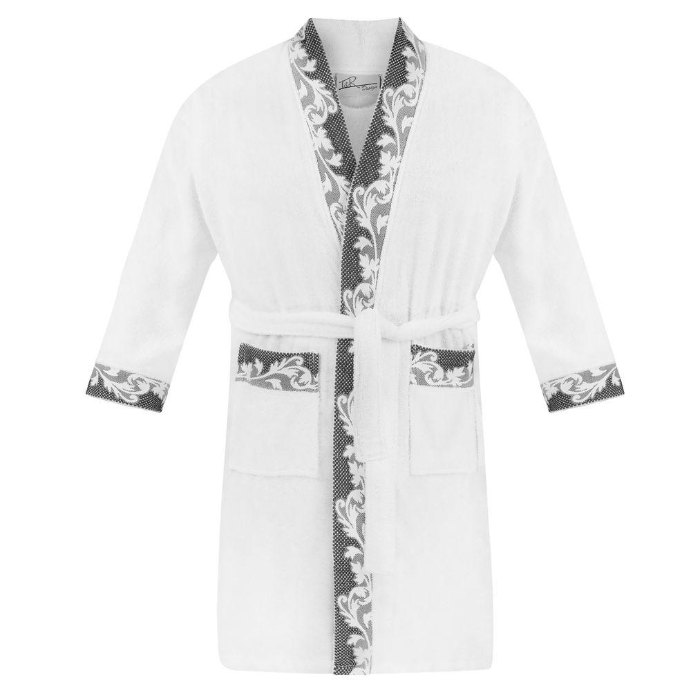 Bademantel in Übergröße für Damen und Herren L-5XL 100% Baumwolle - Kleidung für Mollige