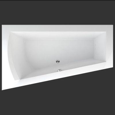 Raumspar Badewanne Galia I / Nera / Stina 170 x 100 x 50 cm links – Bild 1