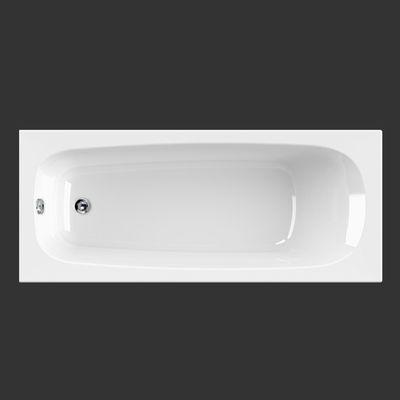 Rechteck Badewanne Korana 180 x 80 x 41 cm inkl. Wannenträger – Bild 1